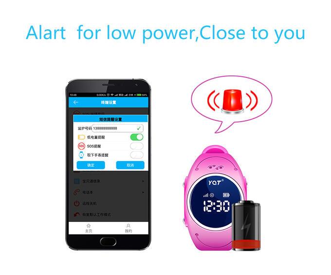 Водонепроницаемые умные детские часы Smart Baby Watch W8