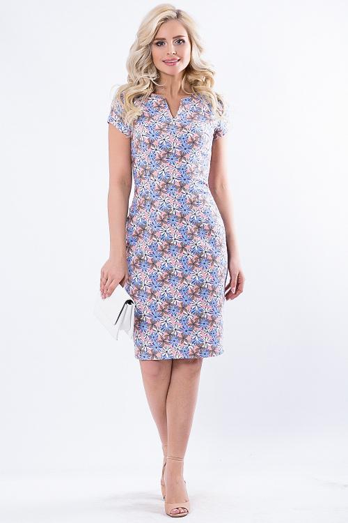 Платье 7612. Хлопок 95%, лайкра 5%. Обмен на 48 или продам во Владивостоке