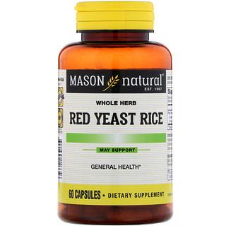 Mason Natural, Красный дрожжевой рис , 60 кап.