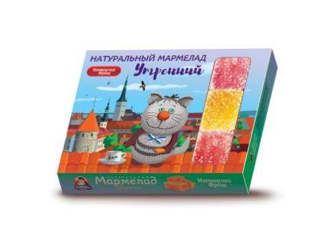 Мармелад натуральный Утренний Натюрлих–Фреш 300 г