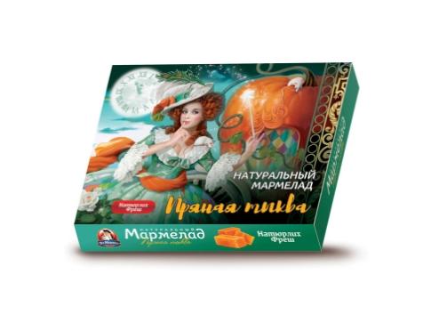 Мармелад натуральный Пряная тыква Натюрлих–Фреш 300 г