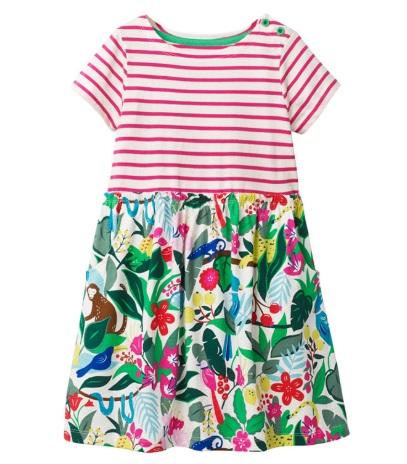 Платье Платье трикотаж.  18М(92 см) 2Т(98 см) 3Т(104 см) 4Т(110 см) 5Т(116 см) 6Т(122 см) 7Т(128 см)