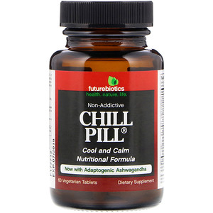 FutureBiotics, Chill Pill, 60 Vegetarian Tabl