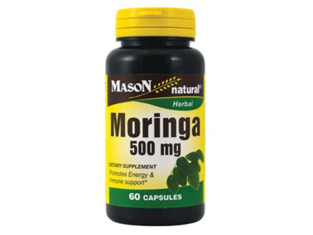 Mason Natural, Моринга, 500 мг, 60 кап
