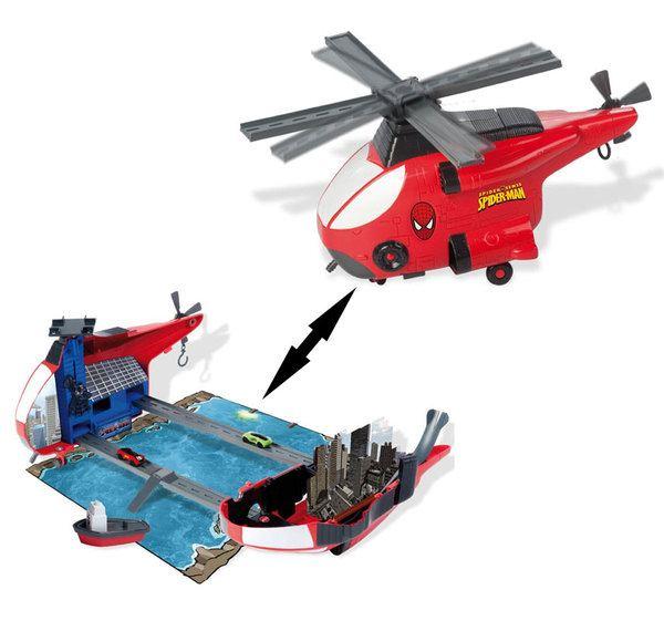 Игровой набор 550728 Вертолет SPIDER-MAN в коробке ТМ ...