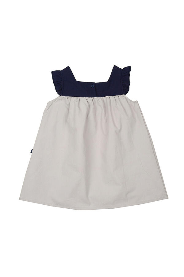 Платье (92-116см) UD 2845 джинс/сер