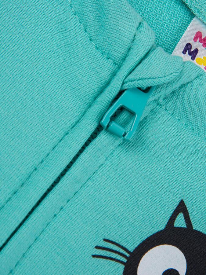 Бомбер (куртка) UD 4379 бирюза