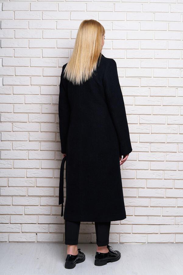 """Пальто """"Р-1"""" вареная шерсть (черный)"""