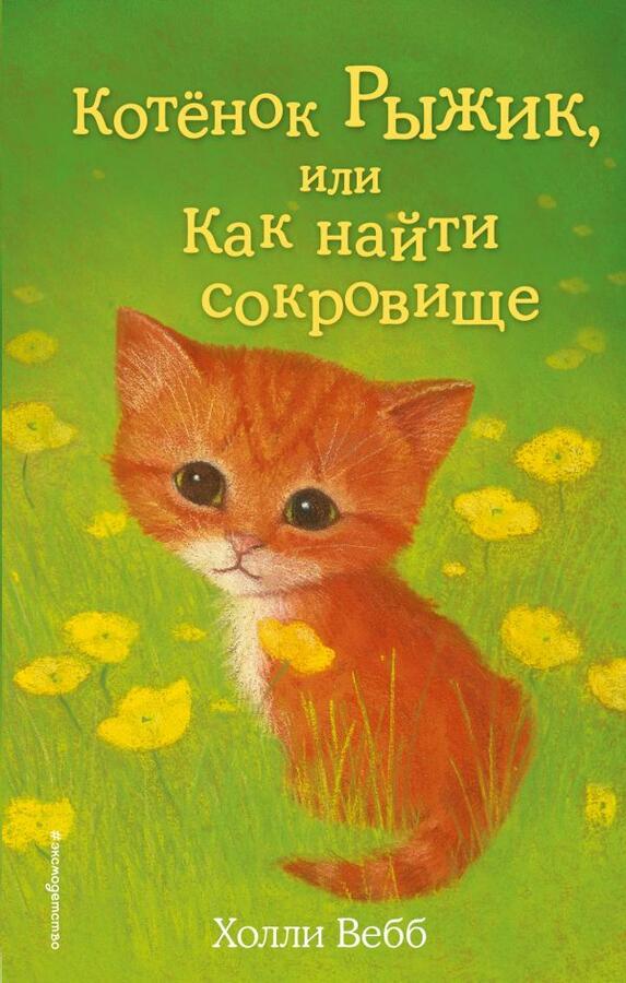 Вебб Х. Котёнок Рыжик, или Как найти сокровище (выпуск 13)