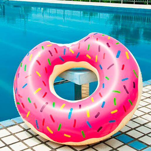 Круг надувной пончик