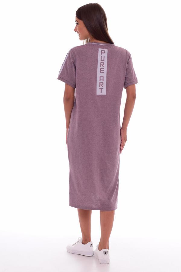 Платье женское 4-61б (сухая роза)