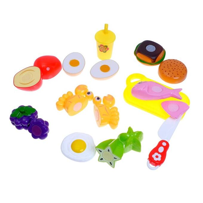 Набор продуктов для нарезки «Вкусный обед», на липучках