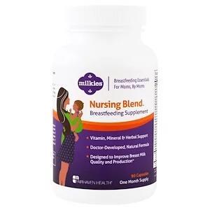 Fairhaven Health,  Milkies, добавка для кормящих мам, 90 растительных кап