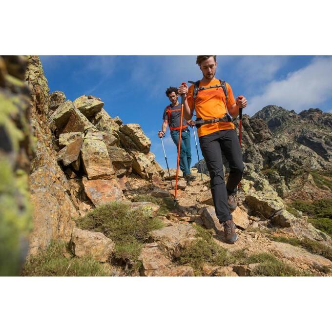 Ботинки мужские водонепроницаемые для горных походов MН100 mid QUECHUA