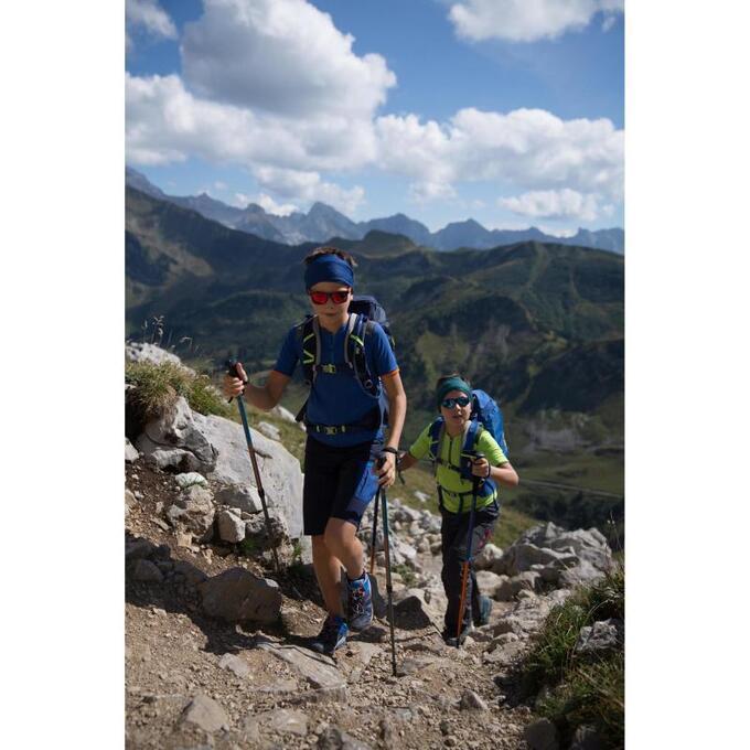 Ботинки детские для горных походов CROSSROCK QUECHUA