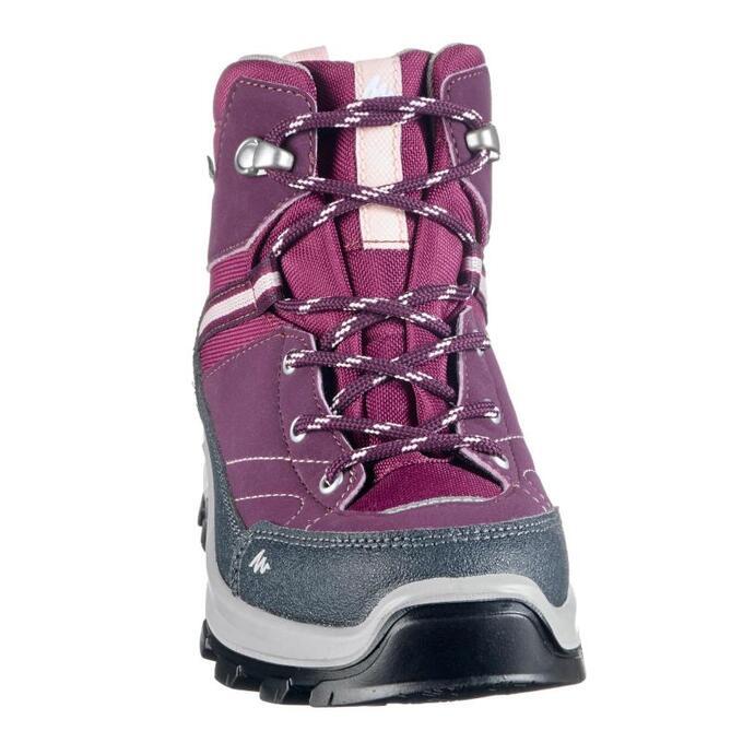 Ботинки детские водонепроницаемые для горных походов MH500 Mid QUECHUA