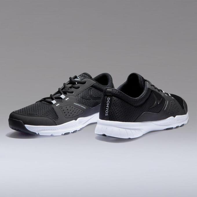 Кроссовки для фитнеса и кардиотренировок мужские FSH 100  DOMYOS
