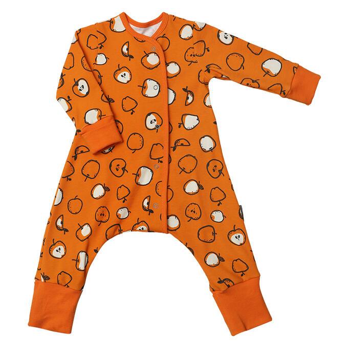 "Пижама на кнопках ""Яблоки"""