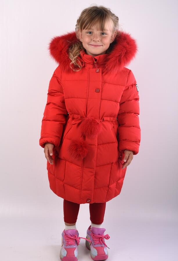 5352 Пальто для девочки