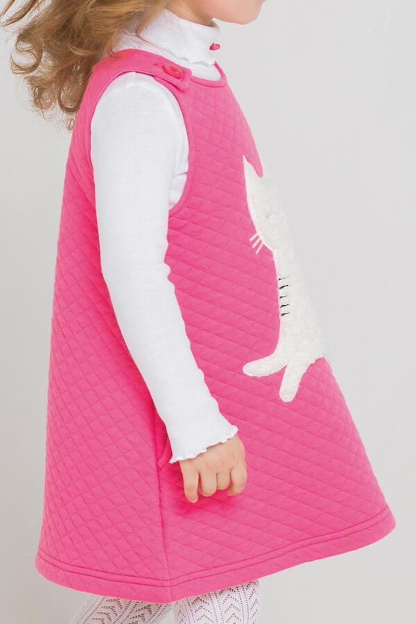 Сарафан для девочки Crockid КР 5548 ярко-розовый к213