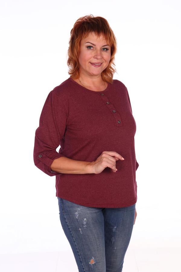 Блуза женская, бордо