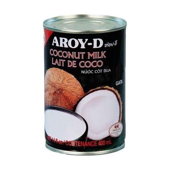 Молоко кокосовое 50% (жирность 17-19%),ж/б, Aroy-d, 400мл