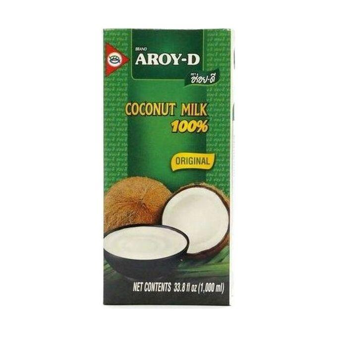 Молоко кокосовое 60% (жирность 17-19%),тетрапак, Aroy-d, 1л