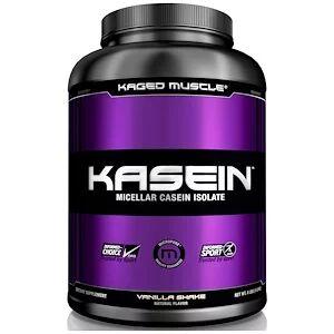 Kaged Muscle, Казеин, мицеллярный, ванильный коктейль (1,8 кг)