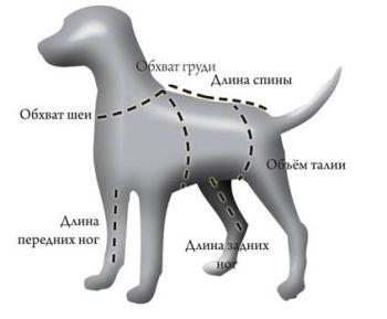 Комбинезон для собак OSSO Fashion, р.40-0 (сука)