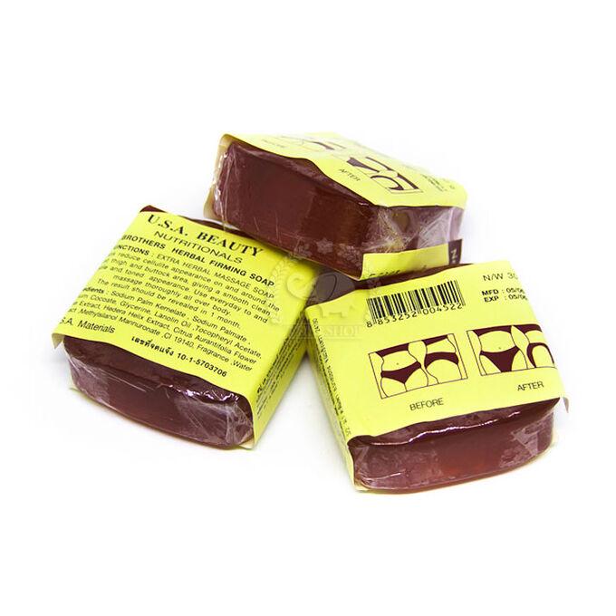 Укрепляющее и подтягивающее растительное массажное мыло для тела, Кэй Бразерс, 30 гр.
