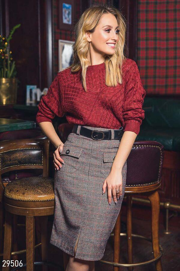 МЕГА модно. Дешевле закупки. Отличная шерстяная юбка во Владивостоке