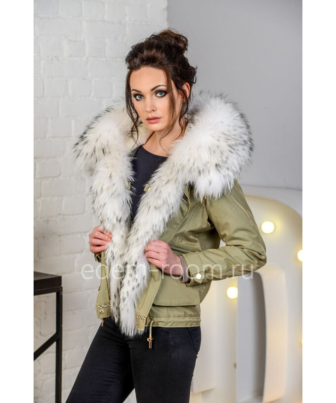 Зимняя куртка с енотомАртикул: V-1812-65-Z-EN