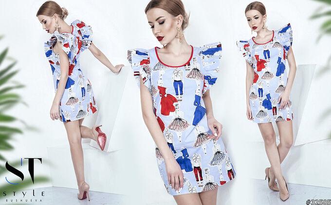 Платье 32585