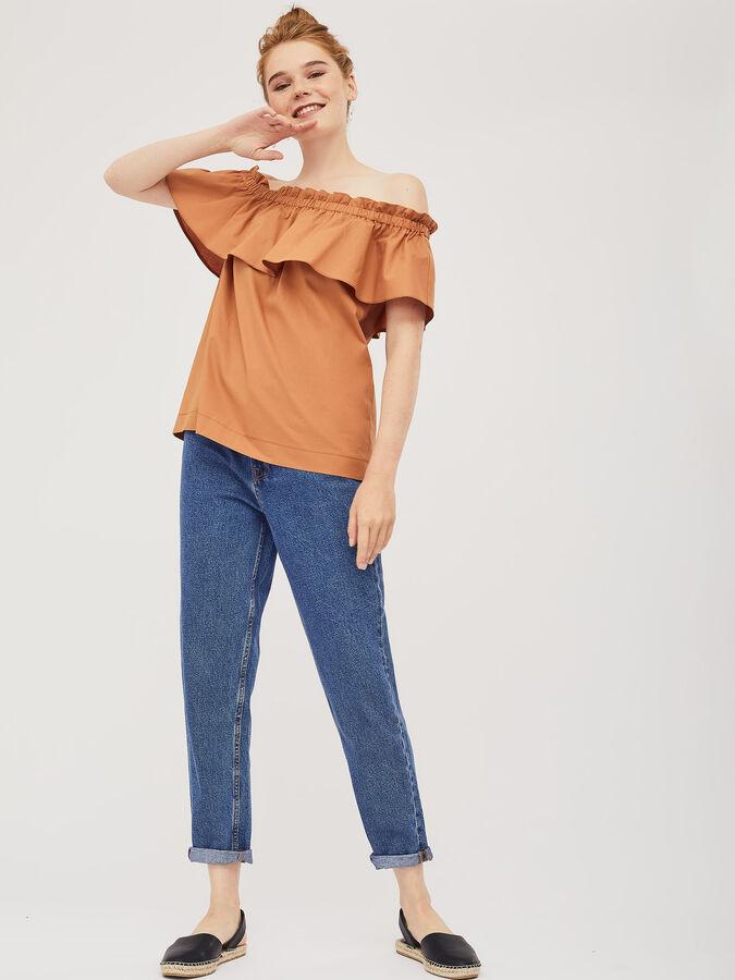 Блуза с открытыми плечами во Владивостоке