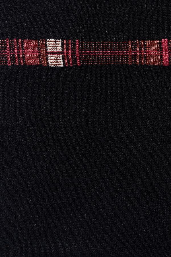 Носки мужские (бордовый орнамент)