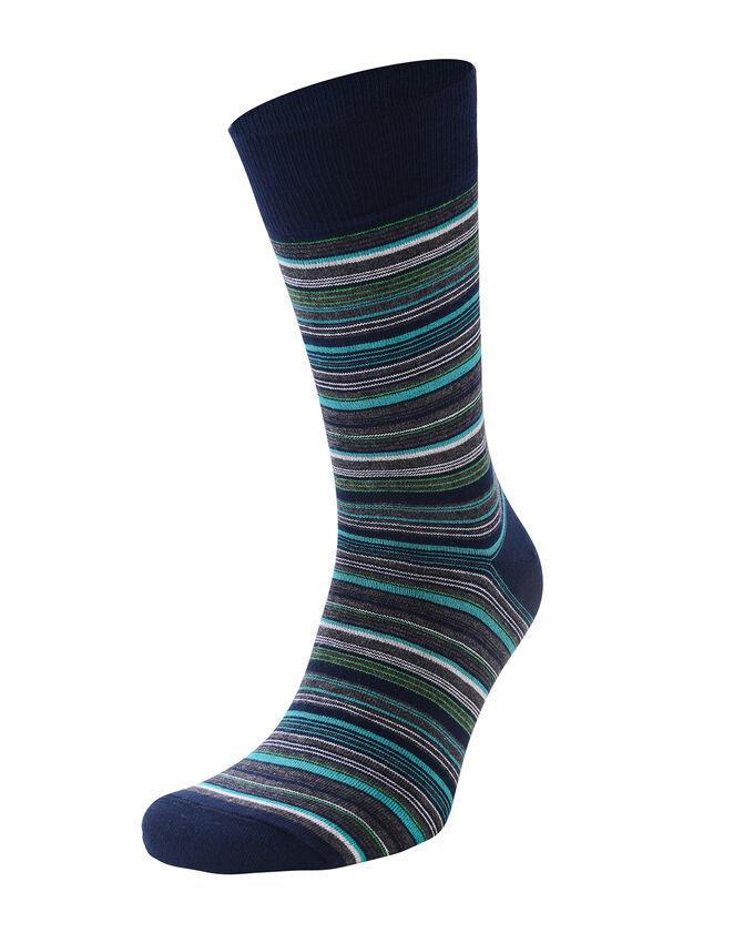 Носки мужские (цветная полоска)