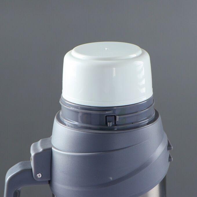 """Термос """"Сайпрес"""", 1.75 л, с ремнем на катушке, 20 ч, 16х23 см, микс"""