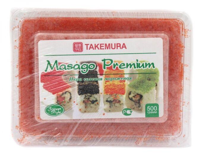 Икра Масаго Красная 500 гр Takemura