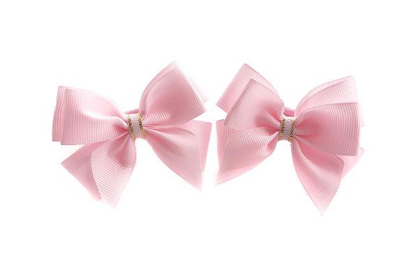 Бант для волос Маруся розовый