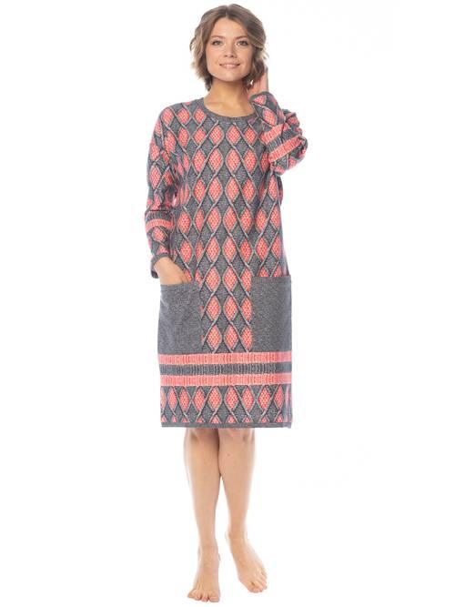 Платье из футера (46-58 р.)