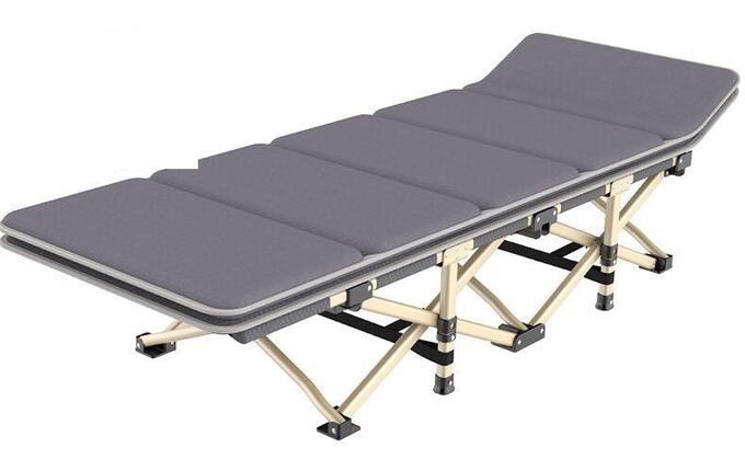 Раскладушка-кровать + мягкий матрас