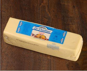 "Сыр Моццарелла ""Ла Паулина"" (брус ~ 3,5 кг), 1/~21кг"