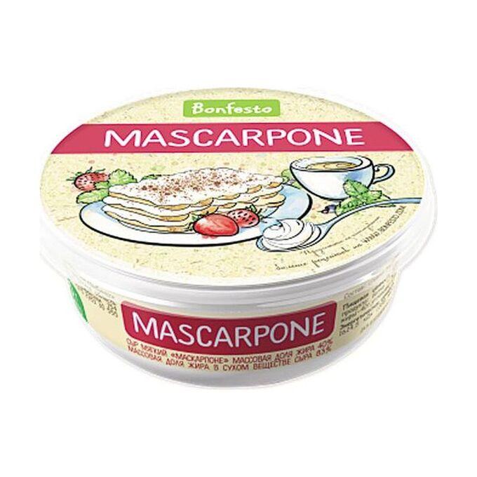 Сыр Маскарпоне 78% Bonfesto, 500г