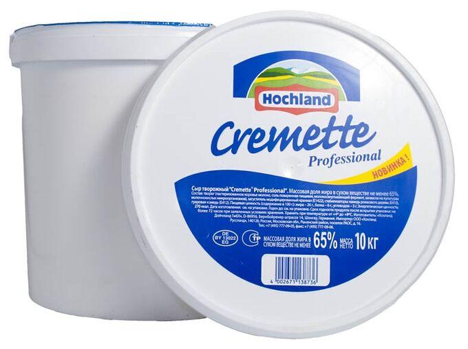 Сыр сливочный Креметте 10 кг Hochland