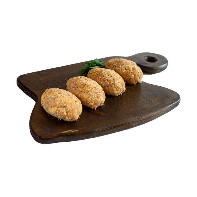 Котлеты куриные, рубленные с сыром, замороженные, 4шт в уп., 400г