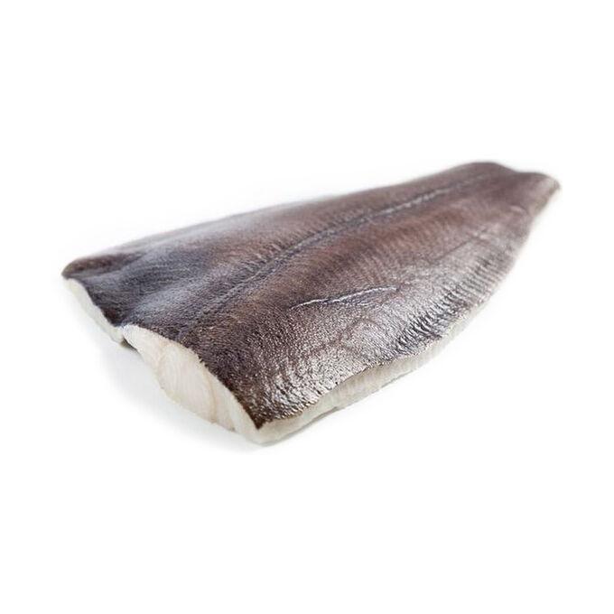 Палтус синекорый, филе на коже, замороженное
