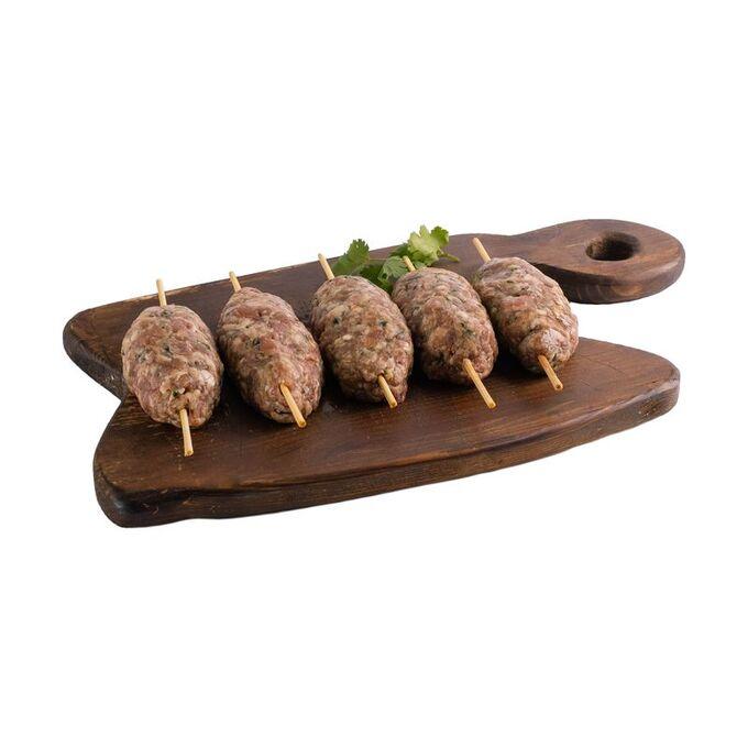 Люля-кебаб из курицы, 5 шт в уп., замороженный, вакуум. уп., 500г