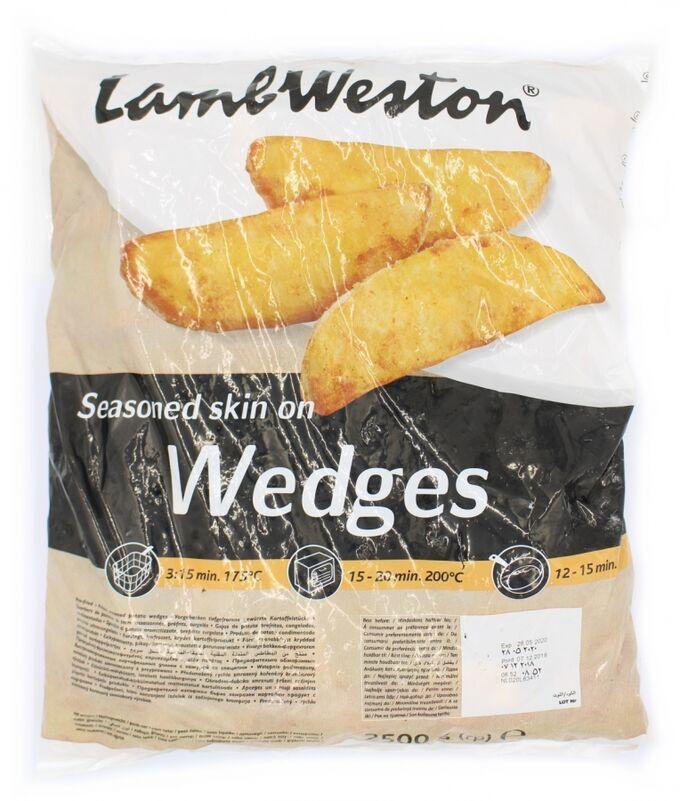 Картофельные дольки со специями 2,5 кг Lamb Weston