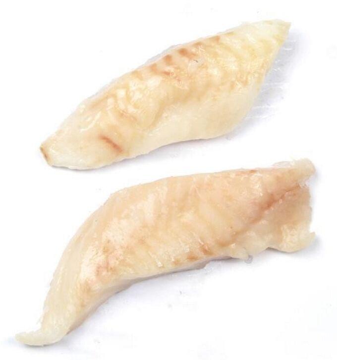 Треска филе без кожи порционное 110-120 гр