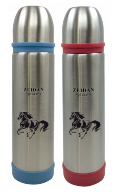 Термос ZEIDAN Термос 750мл, нержавеющая сталь 18/10, узкое горло     Материал – высококачественная нержавеющая сталь.  Нержавеющая сталь – это экологически чистый, долговечный материал, который  чрезв